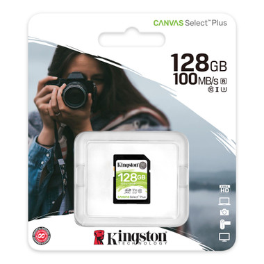 Kingston Canvas Select Plus 128GB SD card