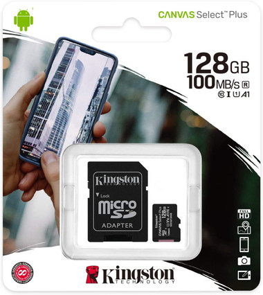 Kingston Canvas Select Plus 128GB Micro SD card