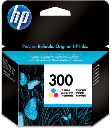 HP 300 Tri-Colour Ink