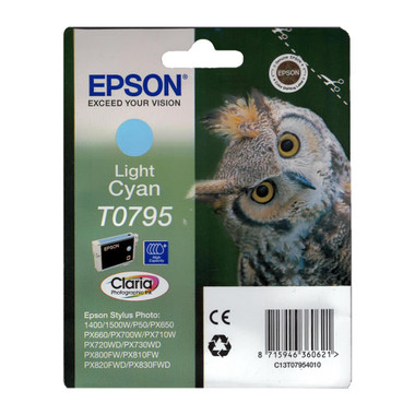 Epson T0795 STYLUS PHOTO High Capacity Light Cyan