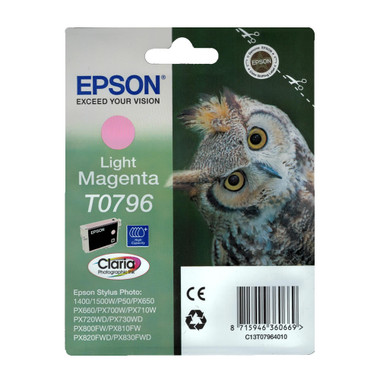 Epson T0796 STYLUS PHOTO High Capacity Light Magenta