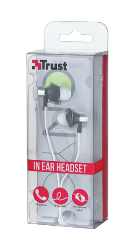 Trust Wired In Ear Headset