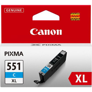 Canon Pixma 551 CyanXL Genuine High Capacity Ink