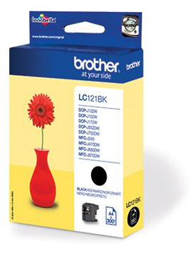 Brother LC121BK Original Black Ink Catridge