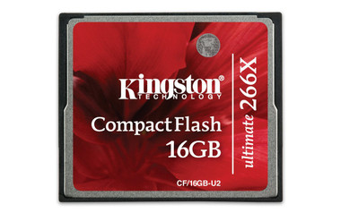 Kingston 16GB Compact Flash 266x CF/16GB-U2