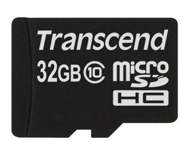 Transcend 32GB MicroSDHC Flash Card Class 10