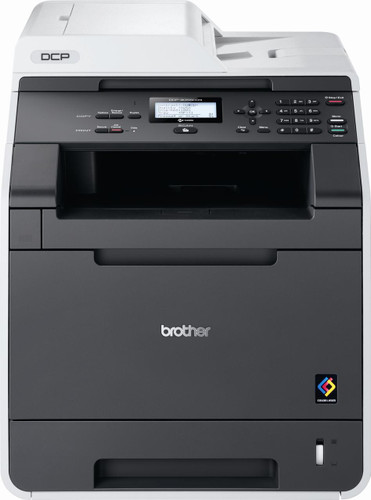 -Brother DCP-9055CDN Network Ready Colour Laser Multifunction Duplex Printer