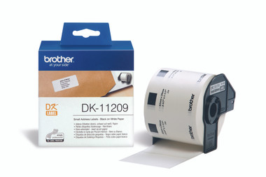 -Brother DK11-209 Small Address Label 29x62mm (Roll of 800)