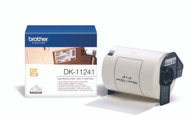 -Brother DK-11241 Large Shipping Label 102x152mm (Roll of 200)