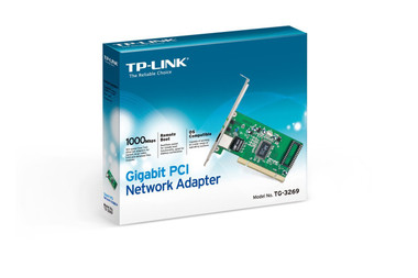 TP-Link TG-3269 32-bit Gigabit PCI Network Interface Card