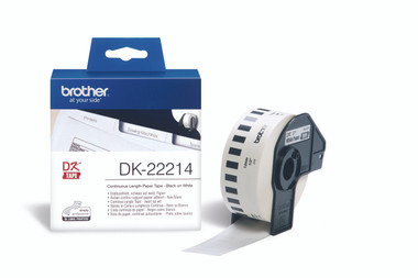 -Brother DK-22214 Continuous-length Label 12mm (30.48m)