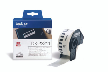 -Brother DK-22211 Continuous-length 29mm Label (15.24m)