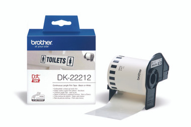 -Brother DK-22212 Continuous Length Film 62mm (15.24m)