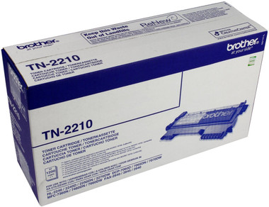 -Brother Original TN2210 Black Toner (1200 Pages)