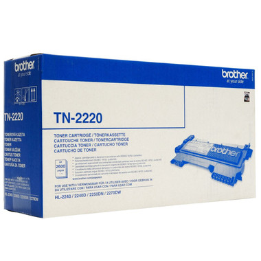 -Brother Original TN2220 Black Toner TN2220 (2600 Pages)