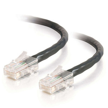 C2G 1.0m Cat5E 350MHz Non-Booted Assembled Patch Cable - Black