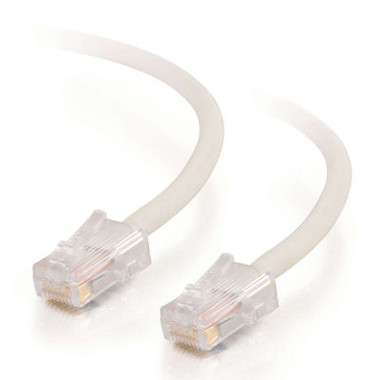 C2G 15m Cat5E 350MHz Non-Booted Assembled Patch Cable - White