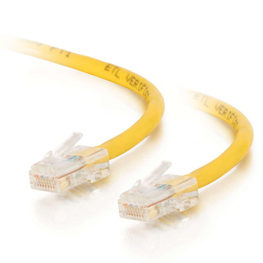 C2G 1.5m Cat5E 350MHz Non-Booted Assembled Patch Cable - Yellow