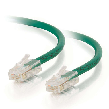 C2G 1.0m Cat5E 350MHz Non-Booted Assembled Patch Cable - Green