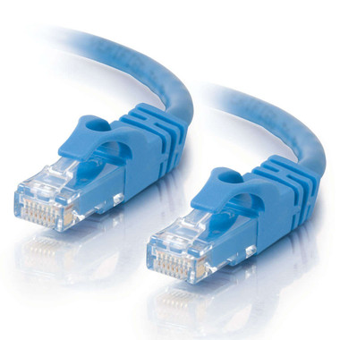 C2G 10.0m Cat6 Booted Unshielded (UTP) Network Patch Cable - Blue
