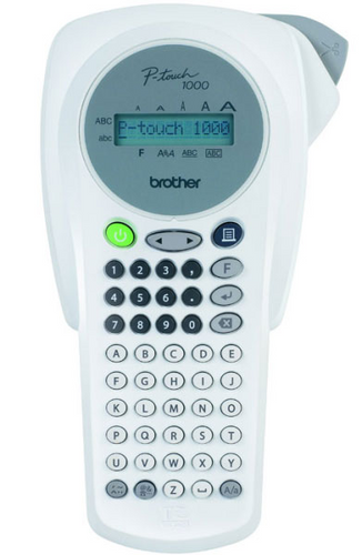 -Brother PT-1000 Handheld Label Printer