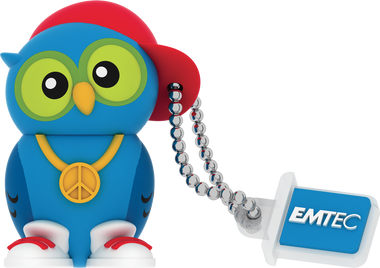 Emtec DJ. OWL 8GB USB 2.0 Flash Drive