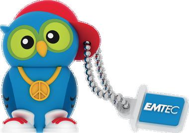 Emtec DJ. OWL 8GB USB 2.0 Flash Drive