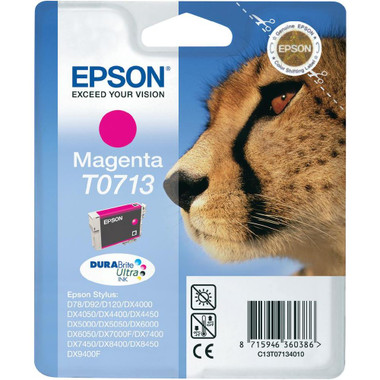 Epson T0713 - Print cartridge - 1 x Magenta