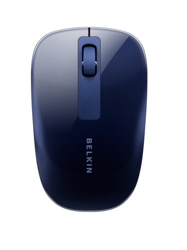Belkin Wireless Lounge Mouse - Dark Blue