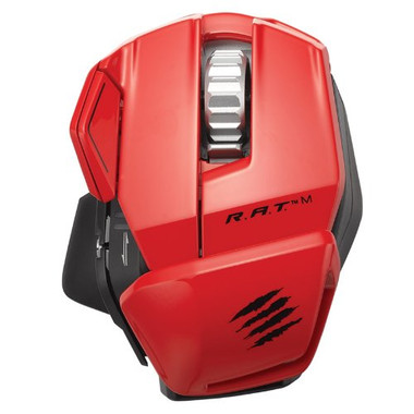 Mad Catz R.A.T.M Bluetooth Gaming Mouse - Red