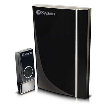 Swann Wireless Door Chime With Sylish Black Finish