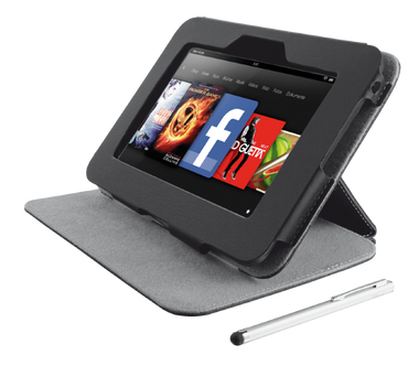 Trust Folio Stand & Stylus for Kindle Fire HD 7""