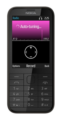 -Nokia 225 UK Sim Free Mobile Phone (Black)