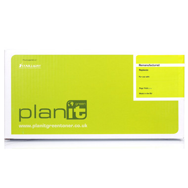 PLANIT GREEN Remanufactured Genuine Yellow Toner for Canon LBP7100cn (1800 Page)