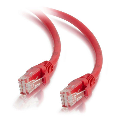 C2G 10m Cat5E 350 MHz Booted Patch Cable - Red