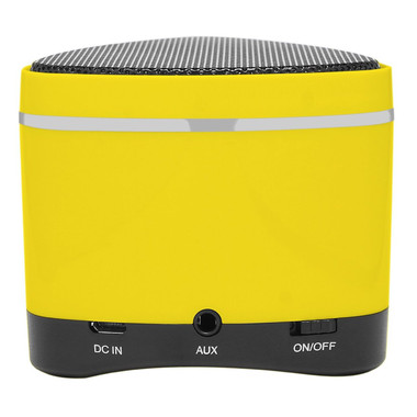 iWalk Sound Angle Mini Rechargeable Bluetooth Speaker - Yellow (with SD card slot)