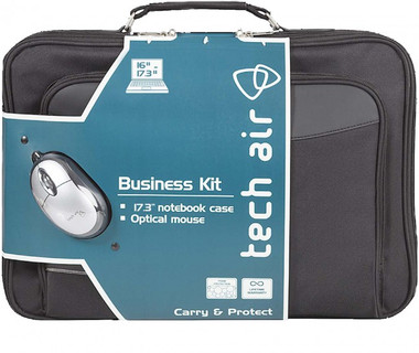 "Tech Air Business Kit Notebook Case 16"" - 17.3"" + USB Optical Mouse"