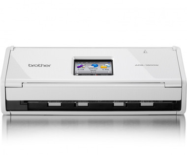 Brother ADS-1600W Compact Document Scanner + Wireless