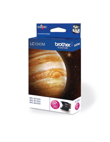 Brother LC1240M Genuine Ink Cartridge - Magenta
