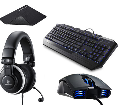 Cooler Master CM Storm Gaming Bundle - Headset, Keyboard, Mouse & Mousepad