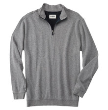 Linksoul Bristol Half Zip Pullover (Charcoal Heather)