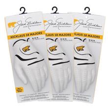 Jack Nicklaus 18 Majors Golf Gloves  (3-Pack)