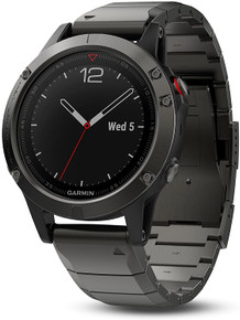 Garmin Fenix 5 Sapphire Smartwatch (Slate Grey w/ Metal Band)