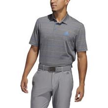 Adidas Golf Men's Ultimate Heather Stripe Polo