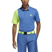 Adidas Golf Men's Ultimate 365 Blocked Print Polo