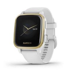 Garmin Venu Sq Watch - White/Light Gold