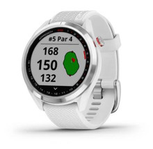 Garmin Approach S42 GPS Golf Watch (Stainless Steel w/ White)