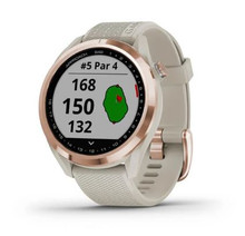 Garmin Approach S42 GPS Golf Watch (Rose Gold W/ Light Sand)