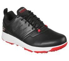Skechers Go Golf Torque Pro Mens Golf Shoes (Black/Red)