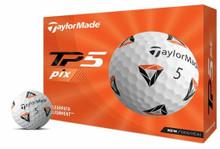 TaylorMade 2021 TP5 piX 2.0 Golf Balls